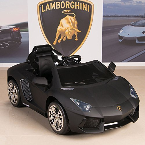 Lamborghini Aventador 12V Kids Ride On Battery Powered Wheels Car