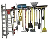 Holeyrail, Garage Organizer, Metal Pegboard, Commercial Quality, Industrial Strength, Prefinished...