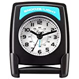 Equity by La Crosse 20085 Fold-Up Travel Analog Alarm Clock