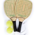 Pickle-Ball, Inc. Swinger Pickleball Paddle and Bundle Options - Quality Durable Wood Racquet and Sets