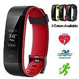 Lintelek Fitness Tracker, Color Screen Activity Tracker IP68 Waterproof Fitness Watch Heart Rate Monitor, Sleep Monitor, Step Counter, 14 Sports Modes Men Women Kids