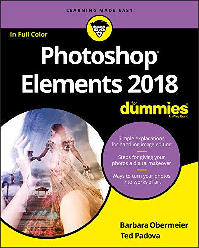 Photoshop Elements 2018 For Dummies Front Cover