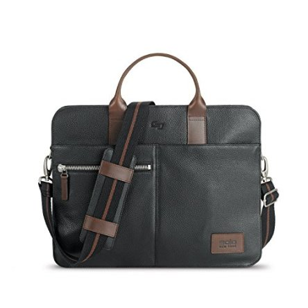 Solo Brookfield Pebbled Leather Slim Brief