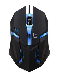 US1984 LED Backlight 4 Button Wired Gaming Mouse