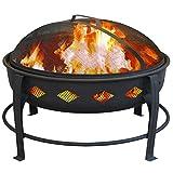Landmann USA 21860 Bromley Fire Pit, Black