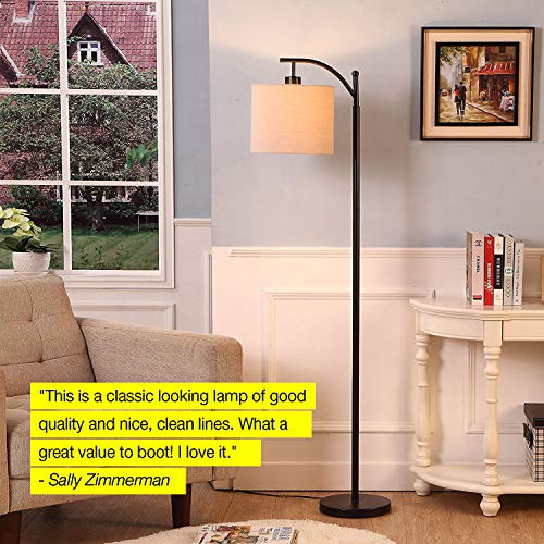 Brightech Montage Bedroom Amp Living Room Led Floor Lamp