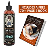 Mister Ben's Original Ear Wash w/Aloe for Dogs - Most Effective & Voted Best Cleaner - This Cleanser Provides Fast Relief from infections, irritations, itching, Odors, Bacteria, Mites, Fungus & Yeast