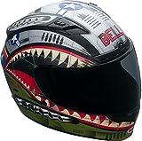 Bell Qualifier DLX Full-Face Motorcycle Helmet (Devil May Care Matte, Medium)