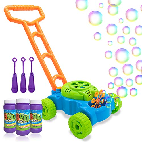 Lydaz Bubble Mower for Toddlers, Kids Bubble