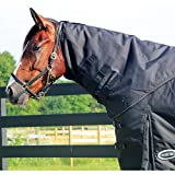 Country Pride Storm Pro Neck Rug for Deluxe Turnout Blanket, X-Large 82+, Black