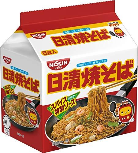 神軽食(日清焼そば 5食P×6個)