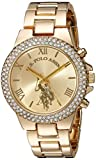 Product review of U.S. Polo Assn. Women's Quartz Metal and Alloy Casual Watch, Color:Gold-Toned (Model: USC40032)