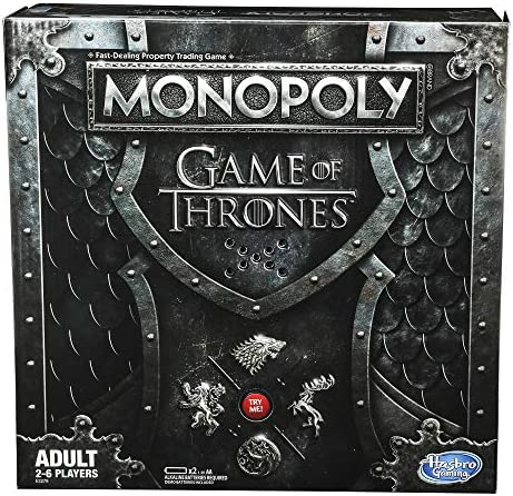 Monopoly Game of Thrones Board Game for Adults