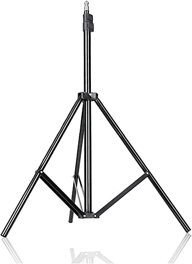 Geeky Bit™ Black Tripod for Mobile Phone Camera, Tripod for Mobile Phone Stands for Video Recording, Phone Camera Stand for Mobile Shooting TIK Tok | Pack of 1 - Matt Black -1 Year Warranty