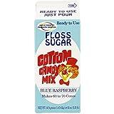 Concession Essentials CE Floss Sugar- Blue Rasp-1ct Cotton Candy Floss Sugar-Blue Raspberry, 4' Height, 4' Width, 9' Length