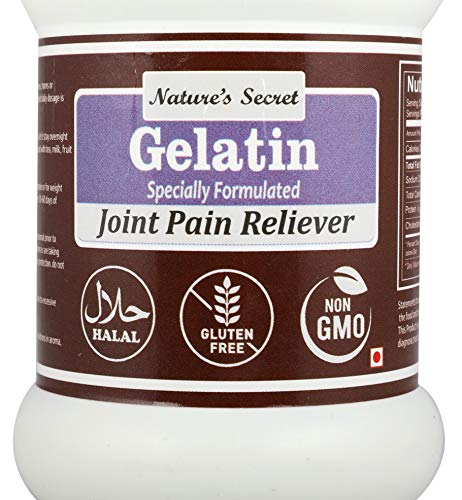 51RkrDtFUwL - Nature's Secret Gelatin Specially Formulated For Joint Pain Reliever -200Gm