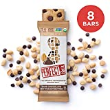 Perfect Bar Whole Food Organic Protein Bar, Gluten Free Dark Chocolate Chip Peanut Butter with Sea Salt, 2.3 Oz Bar (Pack of 8)