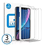 Marge Plus Compatible with iPhone Xr Screen Protector, 3 Packs(6.1 inch 0.25mm) Clear HD Tempered Glass Screen Protector Anti-Scratch 2.5 D Curved Edge with 99% Touch Accurate