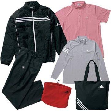 【福袋】adidas(アディダス) ゴルフ 5点セット メンズ - JLJ27-A04205