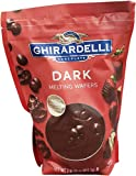 Ghirardelli Chocolate Dark Candy Melting Wafers, 30 Ounce