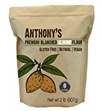 Anthony's Almond Flour Blanched (2lb) Batch Tested Gluten-Free, Non-GMO & Vegan