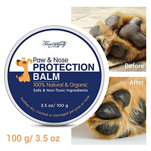 Fancymay-Pet-Paw-Protection-Balm-100-Gram-Value-Pack-Natural-Paw-Nose-Protection-Balm-for-Dogs-Cats-35-OZ
