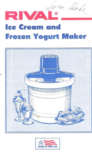 Rival Ice Cream And Frozen Yogurt Maker
