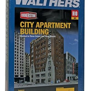 Walthers Corn Trims 9333770City Apartments Model Railway Accessories 51RyDbFAflL