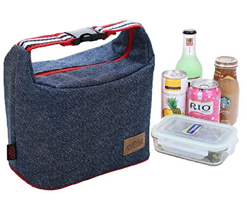 Rayhee Lunch Bag Insulated Lunch Cooler Bags Reusable Handbag Lunch Tote Bags for Women/Men
