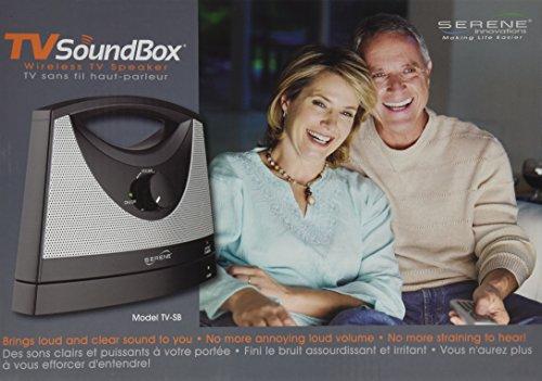 Serene Innovations TV-SB Wireless TV Listening Speaker
