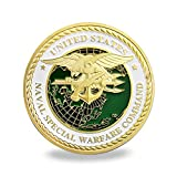 US Navy Seals Challenge Coin Naval Special Warfare Command Military Coin
