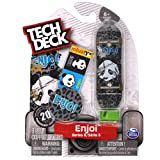 Tech Deck enjoi Skateboards Series 8 Thrashed Panda Cheetah Print Fingerboard
