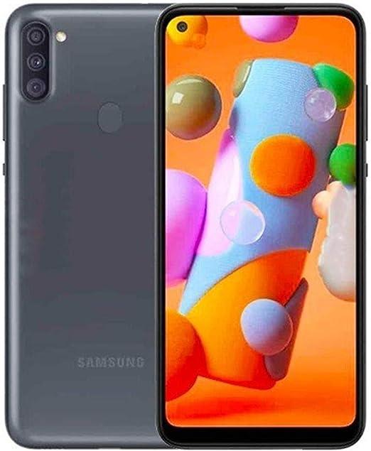 Amazon Com Samsung Galaxy A11 32gb 2gb 6 4 Dual Sim Gsm Unlocked Global 4g Lte International Model T Mobile At T Metro Cricket A115m Ds 64gb Sd Bundle Black