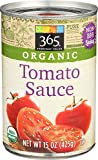 365 Everyday Value, Organic Tomato Sauce, 15 Ounce