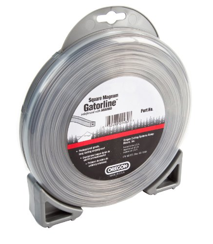 Oregon 22-955 Gatorline Heavy-Duty Professional Magnum 1/2-Pound Coil of .155-Inch-by-42-Foot Square-Shaped String Trimmer Line