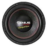 Genius N10-12D4 12' 3000 Watts-Max Car Audio Subwoofer Nitro Competition Dual 4-Ohms