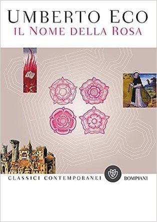 Risultati immagini per nome della rosa libro