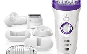 Braun Silk-pil 9 9-579 Wet and Dry Cordless Electric Hair Removal Epilator, Ladies Electric Razor for Women BONUS EDITION