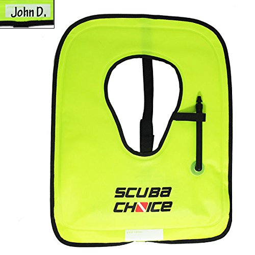 Scuba Choice Adult Neon Yellow Snorkel Vest