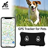 YangtongLK GPS Pet Tracker, Real Time Dogs Cats Locator Finder - Waterproof Alarm , Security Fence Remote Monitoring - Fits for All Android iOS Devices