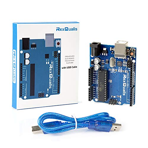 REXQualis-Board-Base-on-Arduino-UNO-R3-ATmega328P-ATMEGA16U2-with-USB-Cable-Compatible-with-Arduino-IDE-Projects