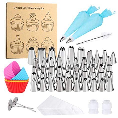 72 strumenti per decorare torte
