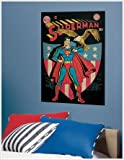 ROOMMATES RMK1632SLG Superman Patriotic Issue Peel and Stick Comic Cover