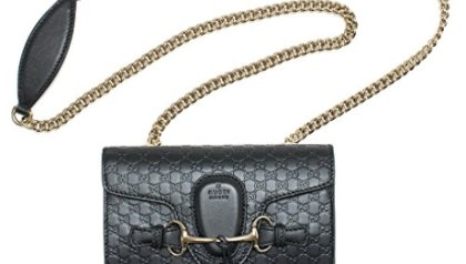 b833431713f Gucci Women's 420023 Medium Calf Leather Convertible Dome Handbag ...