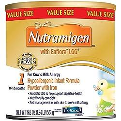 Enfamil Nutramigen with Enflora LGG Infant Formula, Powder, 19.8 Ounce Can