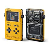 GameShell, Open Source Portable Game Console, Modular DIY Kit, Ideal for Indie Game Developers, Hackers and Retro Games Collectors (Yellow)