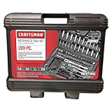 CRAFTSMAN 939484 193 Pieces 1/4 ' Drive 1/2 ' Alloyed Steel