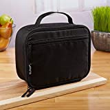 Fit and Fresh 7174FF1949WEB Lunch Bag, 10X8X4, Black