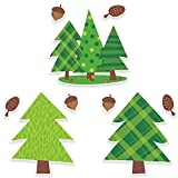 "Creative Teaching Press Woodland Friends Pine Trees 10"" Jumbo Designer Cut-Outs (6249)"