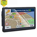 GPS Navigation for Car, 7 inches Spoken Turn-to-Turn Navigation System for Cars, Vehicle GPS Navigator Lifetime Maps Update